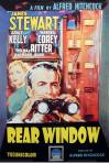 Rear Window Movie Poster James Stewart And Grace Kelly