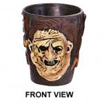 Texas Chainsaw Massacre Leatherface Set Of 2 Shot Glasses by Rubie's.