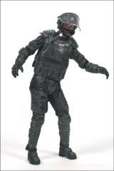 The Walking Dead TV Series 4 Riot Gear Zombie Figure by McFarlane