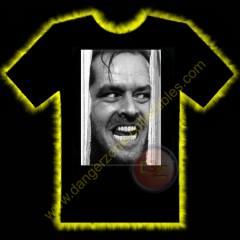 Jack Nicholson The Shining Horror T-Shirt by Rotten Cotton ...