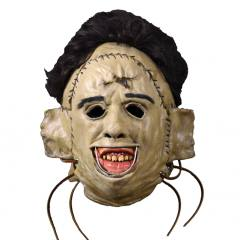 Texas Chainsaw Massacre Leatherface 1974 Killing Mask Full Overhead Mask by Trick Or Treat Studios