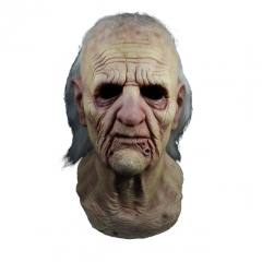 Texas Chainsaw Massacre 2 Grandpa Full Overhead Mask by Trick Or Treat Studios