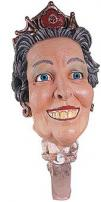 Queen Elizabeth II Soft Vinyl 3/4 Adult Mask by Rubie's