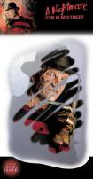 A Nightmare On Elm St Freddy Krueger Mirror Grabber Decal by Rubie's.