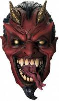 Mr Evil Full Overhead Deluxe Latex Mask by Rubie's.