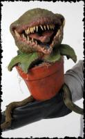 Man Eating Plant Puppet by Bump In The Night Productions.