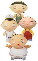 Family Guy Stewie Griffin Boxed Set Of 4 Figures by MEZCO