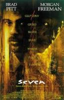 Seven Movie Poster Brad Pitt And Morgan Freeman