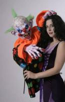 Taffy Clown Puppet by Bump In The Night Productions.