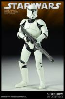 Star Wars Clone Trooper EP2 Phase 1 Figure by Sideshow Collectibles
