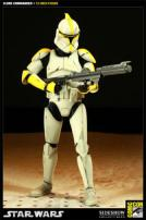 Star Wars Clone Commander EPII Figure by Sideshow Collectibles