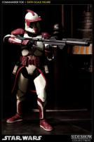 Star Wars Clone Commander Fox Figure by Sideshow Collectibles