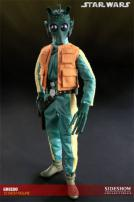 Star Wars Greedo The Bounty Hunter Figure by Sideshow Collectibles