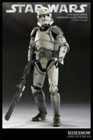 Star Wars 41st Elite Corps Coruscant Clone Trooper Figure by Sideshow.