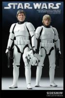Star Wars Han Solo and Luke Skywalker in Stormtrooper Disguise by Sideshow