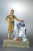 Star Wars C-3PO & R2-D2 EP 4 Snap Fit 7th Scale Kit by Kotobukiya.