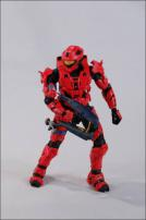 HALO Anniversary Series 1 Advance Spartan Recon Red Figure