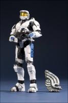 HALO Anniversary Series 2 Spartan MkVI (White/Blue) Figure by McFarlane