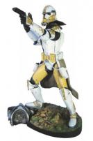 "Star Wars Commander Bly EP 3 ""Snap Fit"" Soft Vinyl 7th Scale Kit by Kotobukiya"
