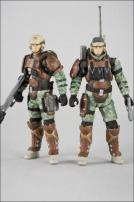 HALO Reach Series 3 UNSC Trooper Support Staff Figure Twin Pack