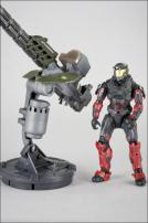 HALO Reach Series 3 Warthog Gauss Cannon & Spartan Operator Figure