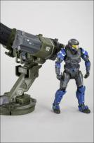 HALO Reach Series 3 Warthog Rocket Launcher & Spartan JFO Figure