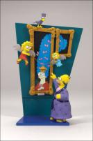 "The Simpsons Series 2 Treehouse Of Horrors 1 ""The Raven"" Figures by McFarlane"