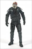 The Walking Dead TV Series 4 Riot Gear Gas Mask Zombie Figure by McFarlane