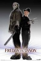 Freddy Krueger vs Jason Voorhees Movie Poster