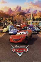 Disney Pixar Cars Movie Poster