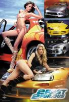 2 Fast 2 Furious Girls And Cars Movie Poster