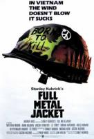 Stanley Kubrick's Full Metal Jacket Movie Poster