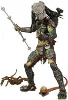 Alien vs Predator 2 Requiem Masked Battle Damaged Predator Figure.
