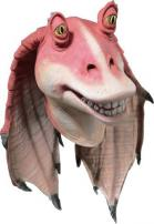 Star Wars Full Overhead Deluxe Latex Jar Jar Binks Mask by Rubie's