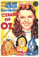 "The Wizard Of Oz ""Judy Garland"" Movie Poster."