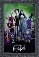 "The Corpse Bride ""Tim Burton"" Movie Poster."