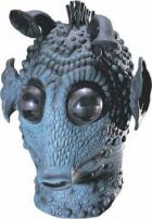 Star Wars Greedo Deluxe Latex Adult Mask by Rubie's.