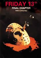 Friday The 13th Jason Voorhees Movie Poster (European Version)