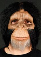 Chimpanzee Face Only Mask by Trick Or Treat Studios
