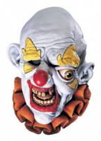 Freako The Clown Adult Full Overhead Deluxe Latex Mask by Rubie's
