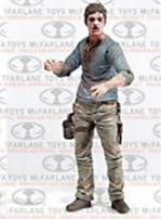 The Walking Dead TV Series 7.5 Flu Walker Figure by McFarlane