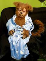 Werewolf Baby Puppet by Bump In The Night Productions.