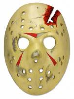 Friday The 13th Pt4 Replica Jason Voorhees Hockey Mask by NECA
