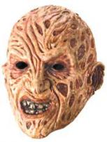 A Nightmare On Elm St Freddy Krueger 3/4 Vinyl Mask by Rubie's
