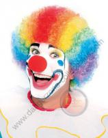 Multi Coloured Clown Wig by Rubie's.