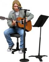 "Kurt Cobain Unplugged 7"" Action Figure by NECA."