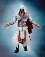 Assassin's Creed Brotherhood Ezio Figure in Ivory Outfit by NECA