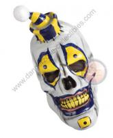 Boner The Clown 3/4 Overhead Deluxe Latex Adult Mask by Morbid Industries.