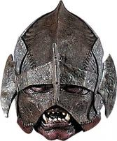Lord Of The Rings Uruk Hai Full Head Deluxe Latex Mask by Rubie's