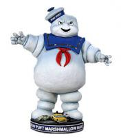 Ghostbusters Stay Puft Resin Bobble Head Knocker by NECA
